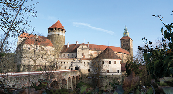 View of Schlaining Castle