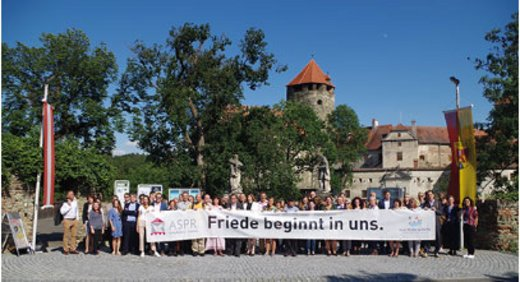 Participants of the Summer Academy at Burg Schlaining in 2019